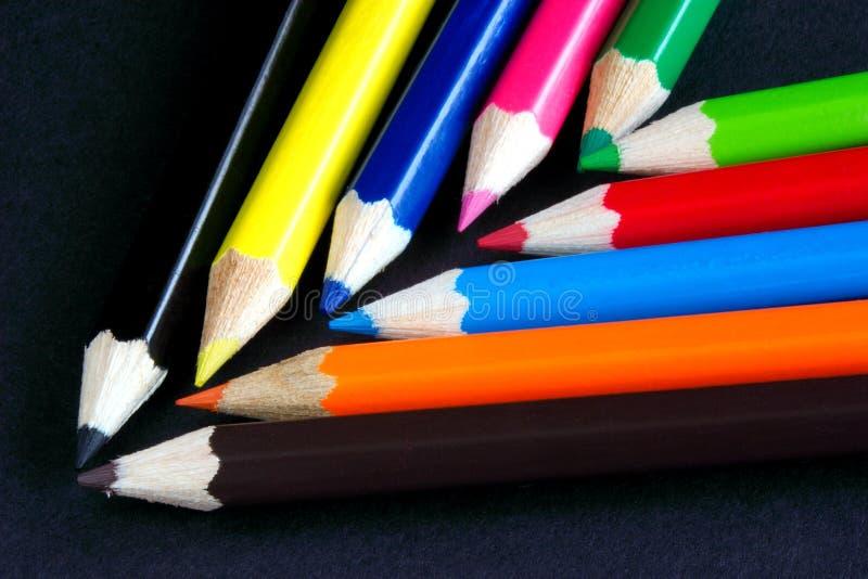 Colores De Chevron Foto de archivo libre de regalías