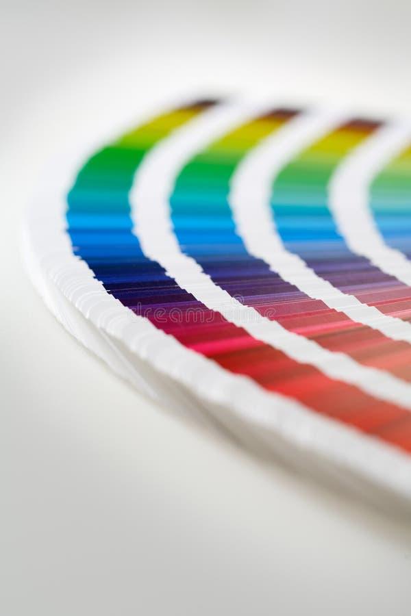 Colores de CMYK fotos de archivo