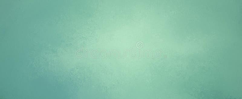 Colores de fondo verdes azules con vieja textura apenada del grunge del vintage en grap bonito del jefe de la página web o de la  foto de archivo