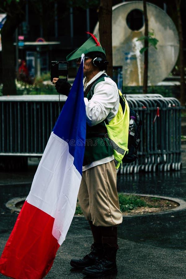 Colores de Francia foto de archivo libre de regalías