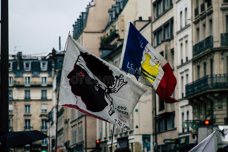 Colores de Francia fotos de archivo