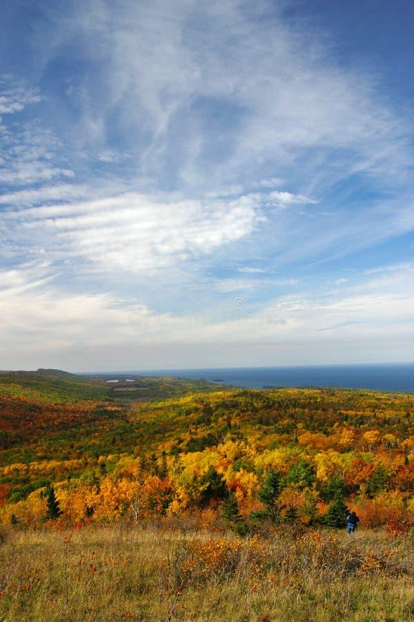 Colores de la caída de la montaña de Brockway foto de archivo libre de regalías