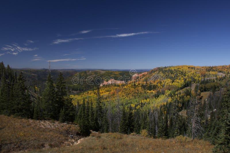 Colores de la caída en Utah meridional fotos de archivo libres de regalías
