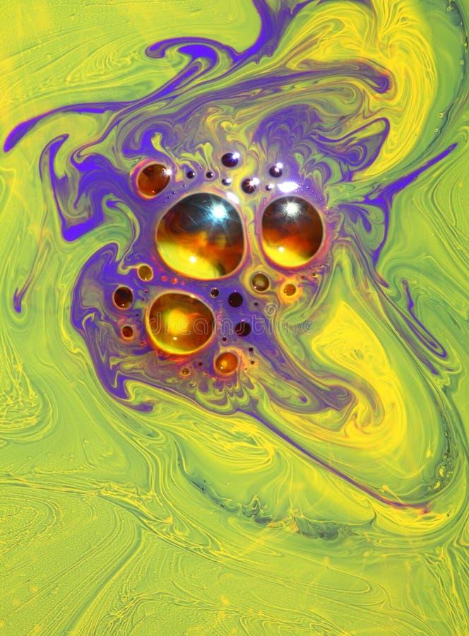 Colores de la glicerina imágenes de archivo libres de regalías