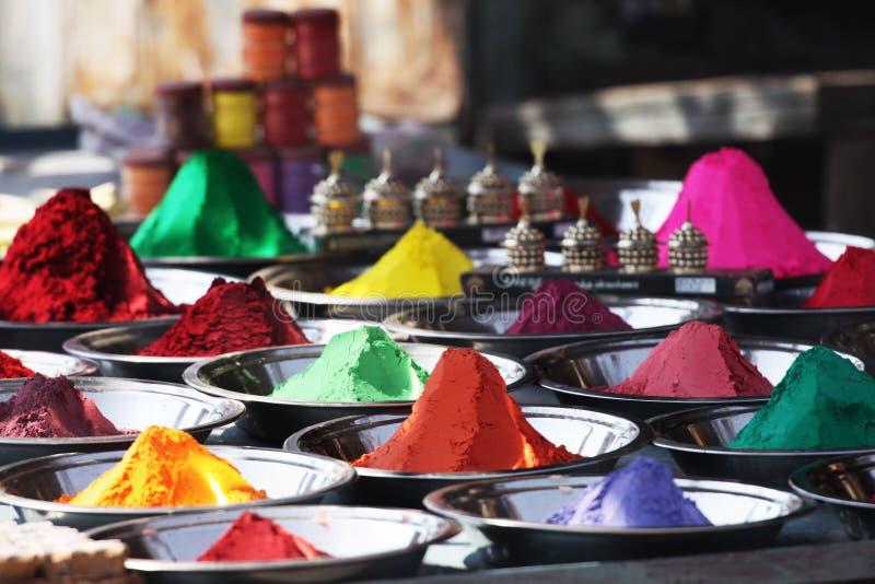 Colores de la India fotografía de archivo libre de regalías