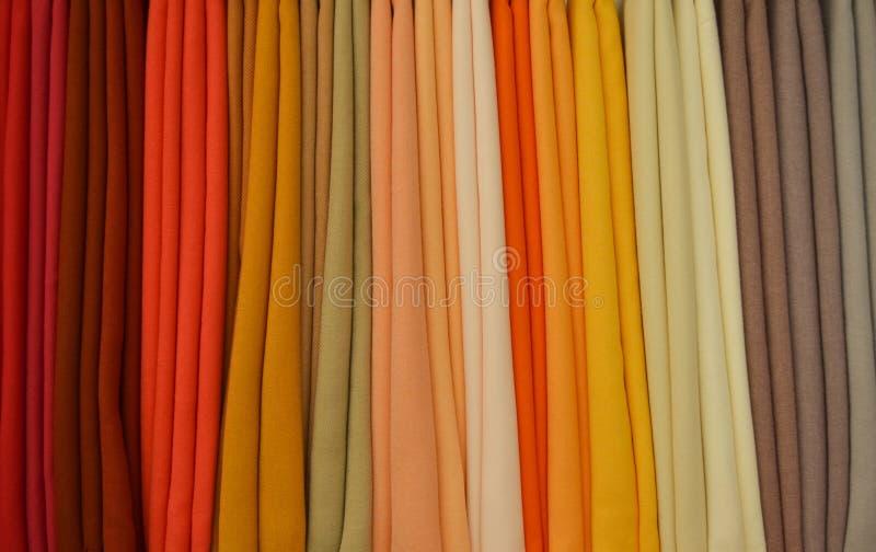 Colores de los paños imagenes de archivo
