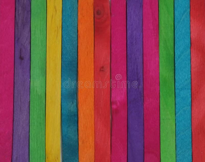 Colores de madera imagen de archivo