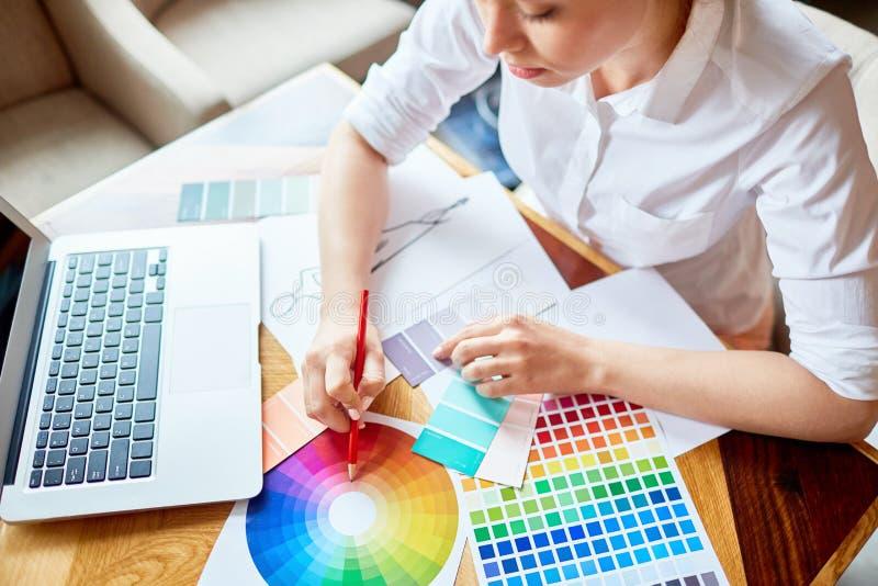 Colores de moda imagen de archivo
