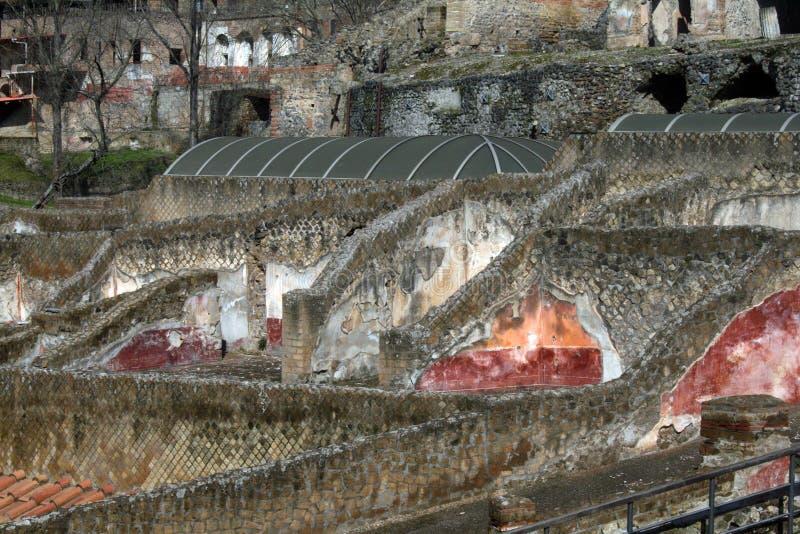Colores de Pompeya imagen de archivo
