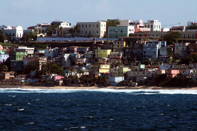 Colores de Puerto Rico imagenes de archivo