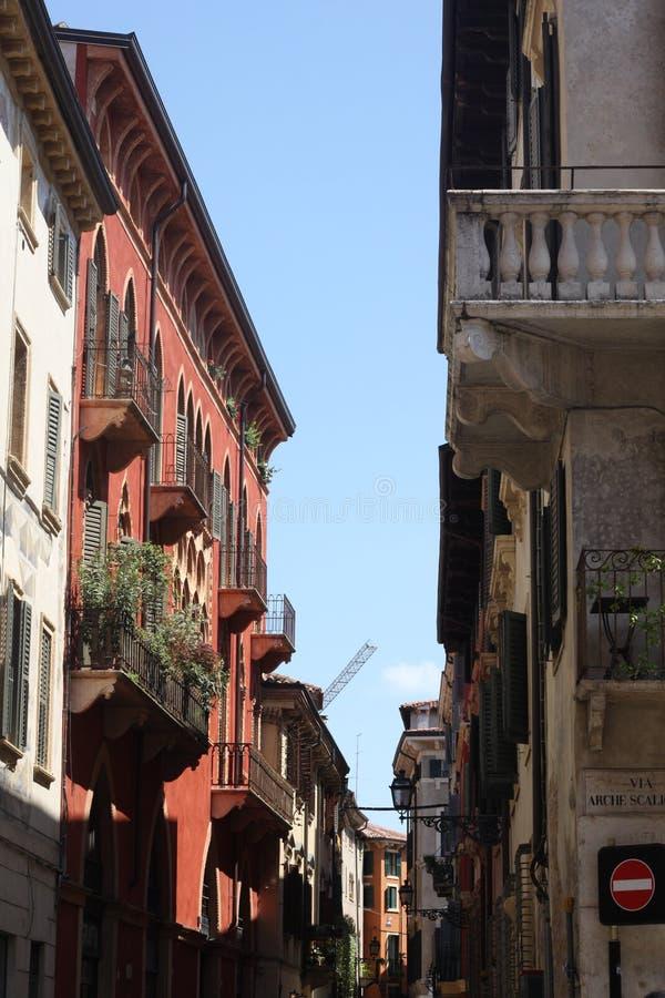 Colores de Verona foto de archivo