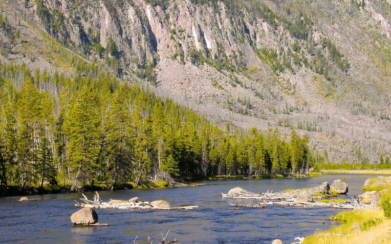 Colores de Yellowstone fotografía de archivo