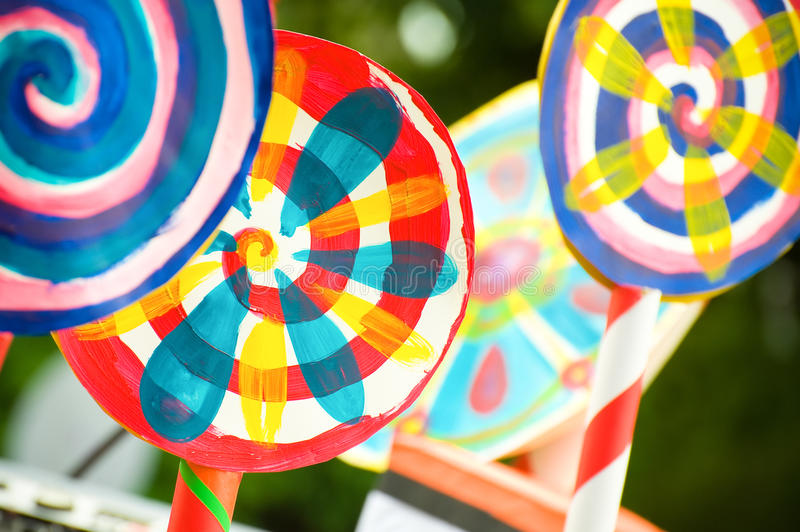 Colores del caramelo imagenes de archivo
