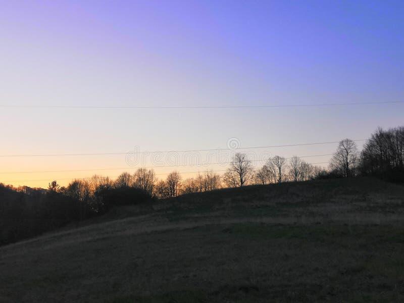 Colores del cielo imagen de archivo libre de regalías