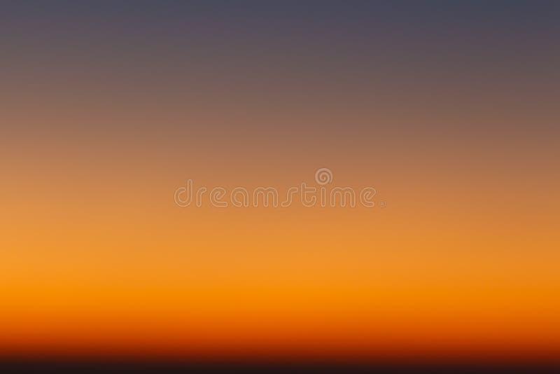 Colores del cielo ilustración del vector