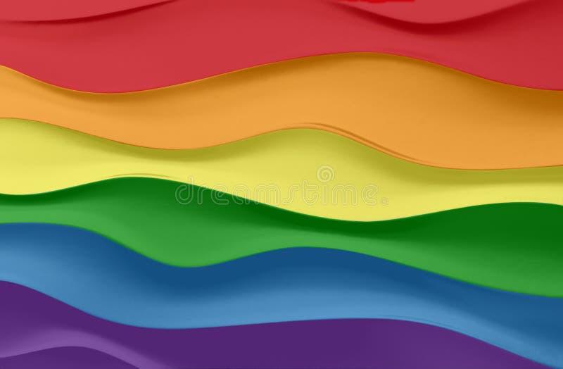 Colores del espectro electromágnetico fotografía de archivo