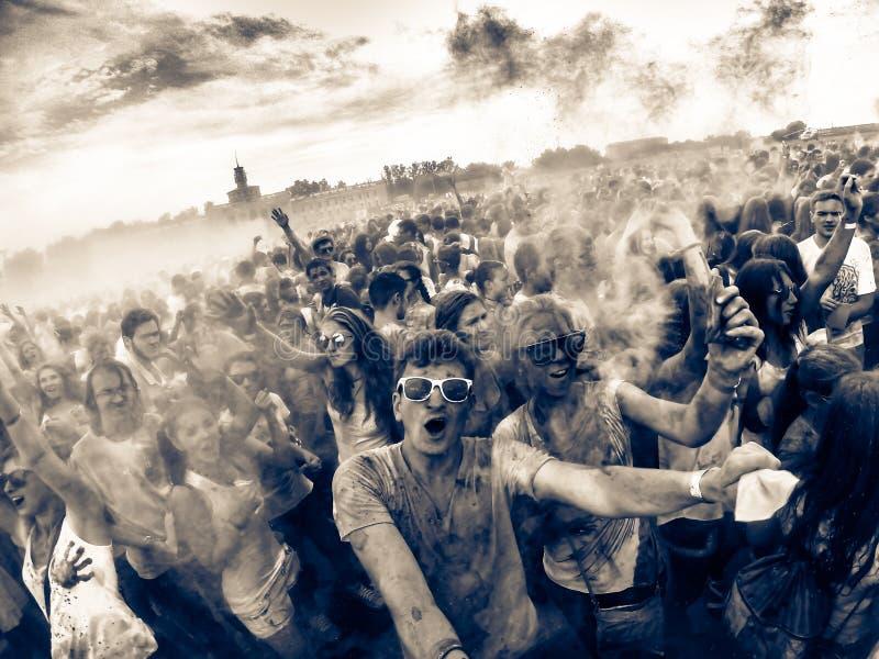 Colores del mundo (versión de la apocalipsis del zombi) fotografía de archivo