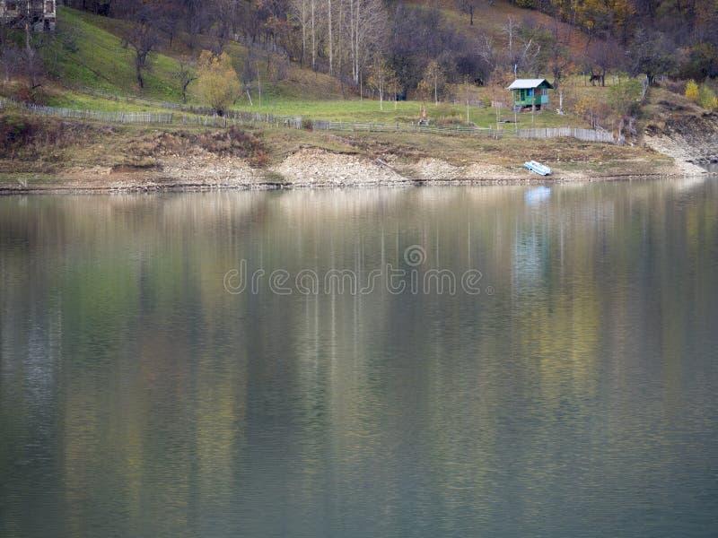 Colores del otoño en Rumania fotos de archivo