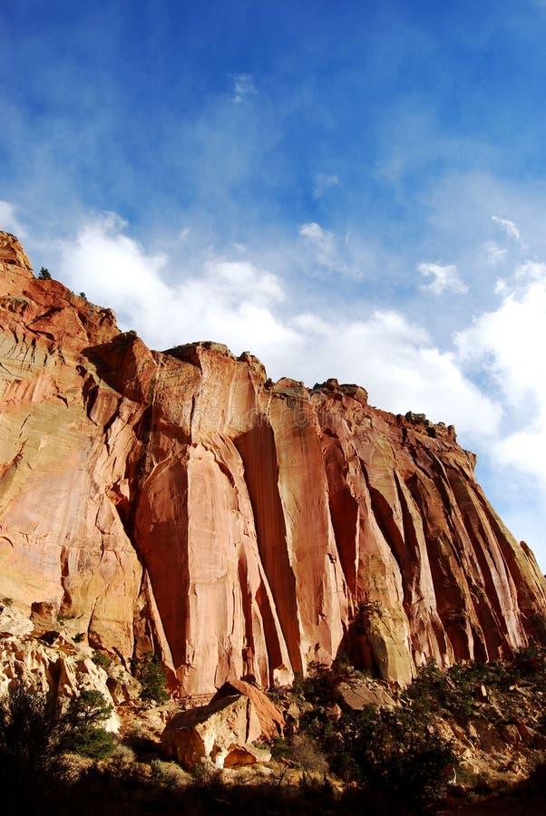 Colores del parque nacional del filón del capitolio imágenes de archivo libres de regalías