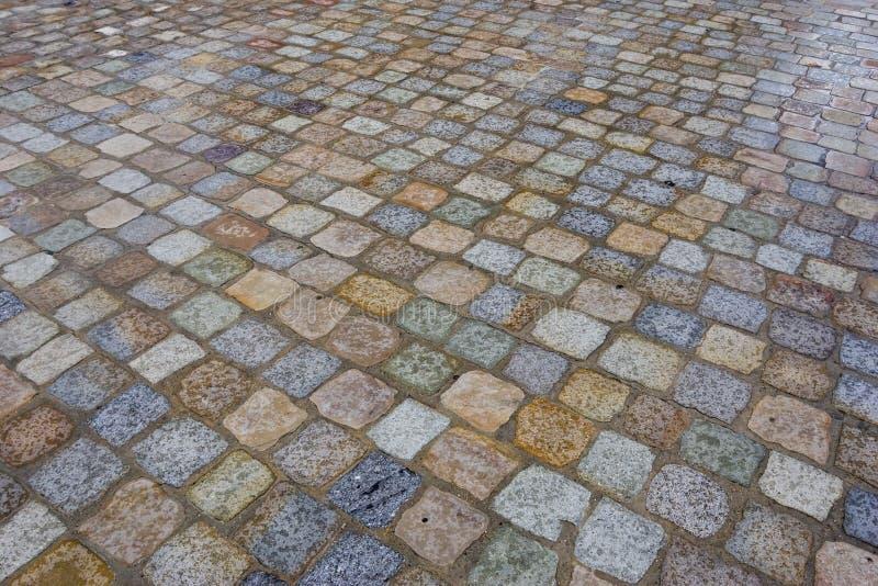 Colores del pavimento imagen de archivo libre de regalías