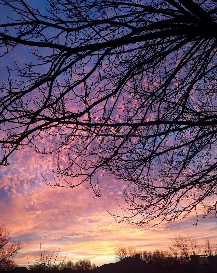 Colores del sol imágenes de archivo libres de regalías