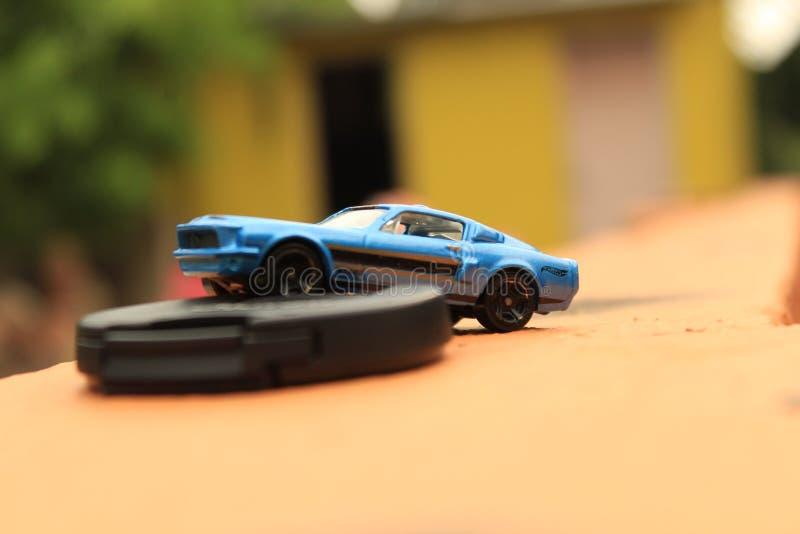 colores del truco del boekh del coche modelo foto de archivo libre de regalías