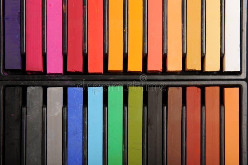 Colores en colores pastel imagen de archivo libre de regalías