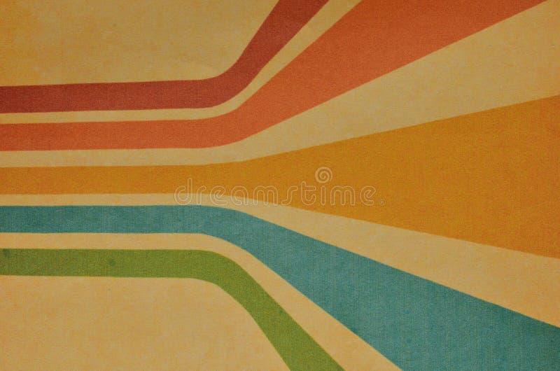 Colores en colores pastel retros con el fondo del grunge Motivo del vintage fotos de archivo libres de regalías