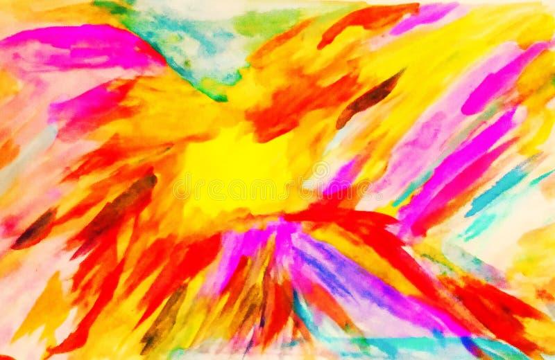 Colores exóticos de felicidad imagenes de archivo