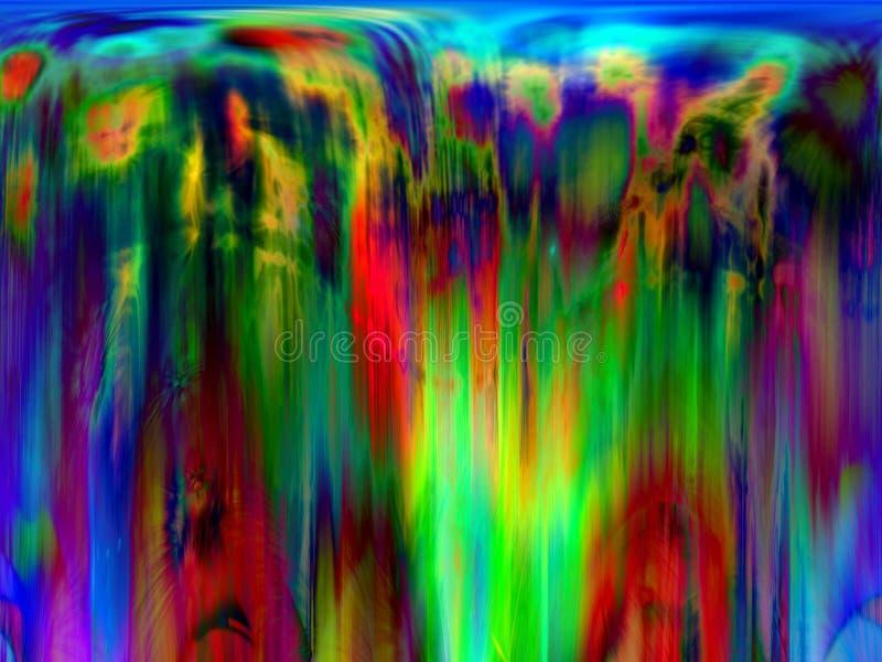 Colores extremadamente dichosos stock de ilustración