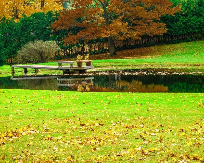 Colores hermosos en Caledon, Ontario de la caída imagen de archivo libre de regalías