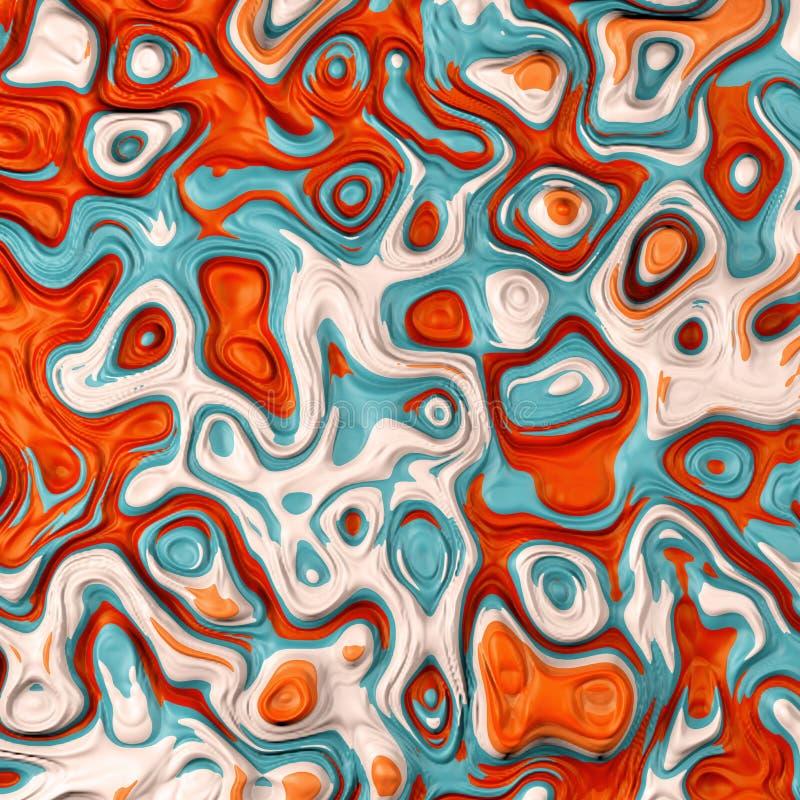 Colores líquidos fotos de archivo