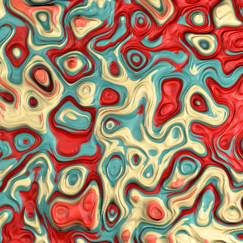 Colores líquidos fotografía de archivo libre de regalías