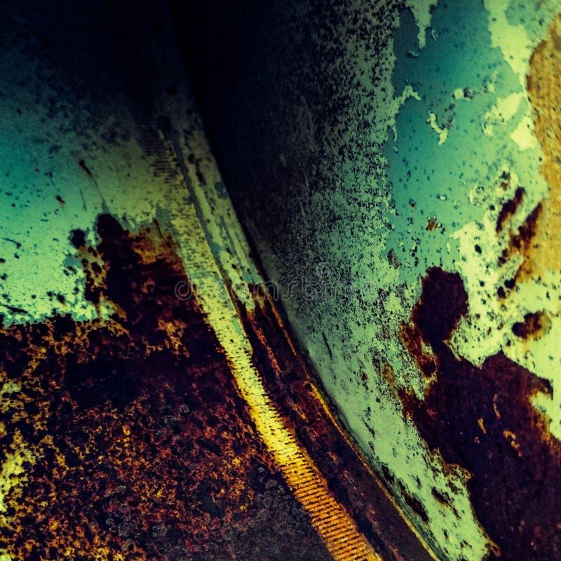 Colores oxidados fotografía de archivo