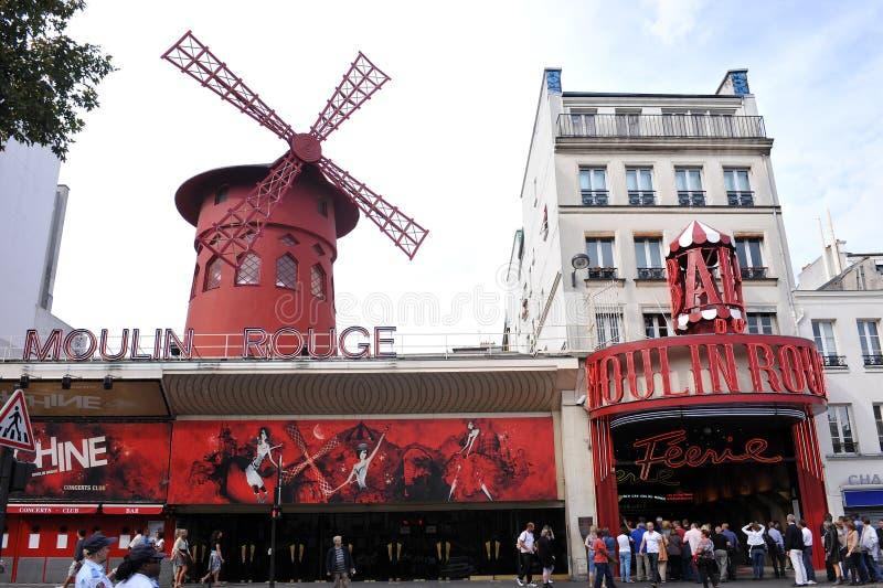 Colorete de Moulin imagen de archivo