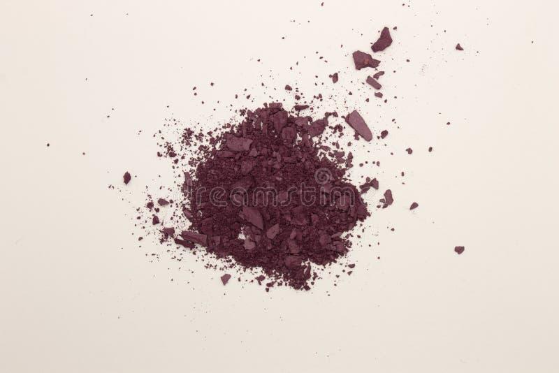 Colorete del polvo del ciruelo fotos de archivo