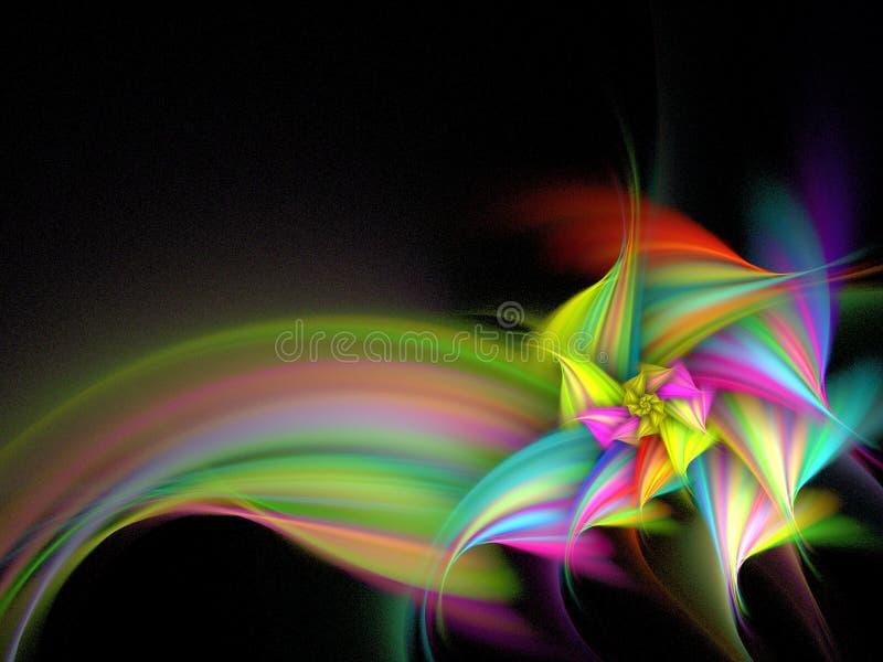 colorez la fleur multi illustration de vecteur