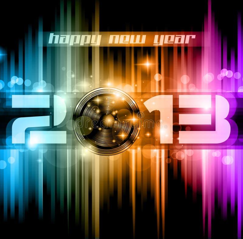 Download Colorful 2013 New Year Celebration Background Stock Illustration - Image: 26968263
