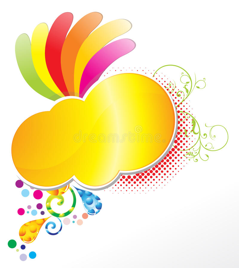 Colorful abstract stock illustration