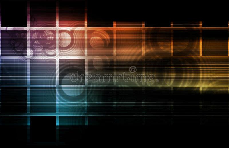 Colorful Abstract royalty free stock photo