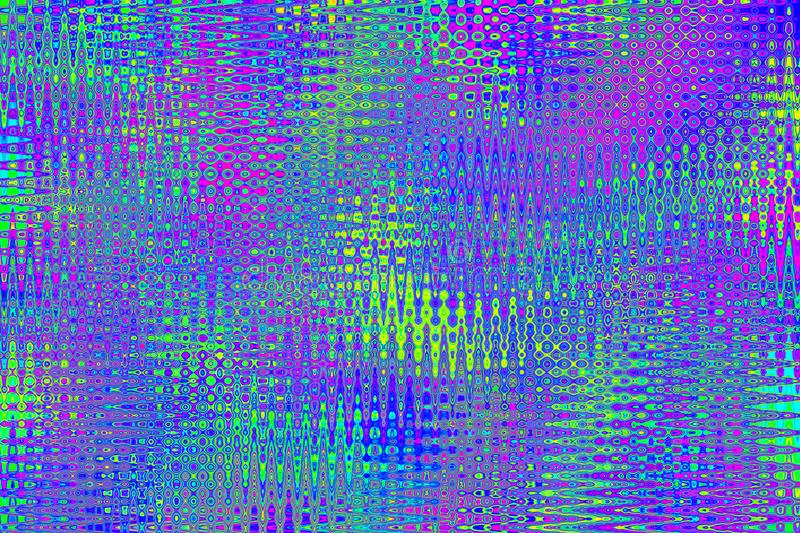 Colorful abstract art background. Multicolored rainbow bright texture. Psychedelic pattern in neon colors vector illustration