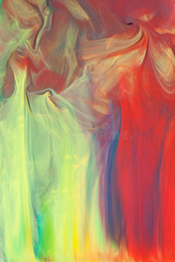 Colorful abstract background. Of airbrushed inks stock photography