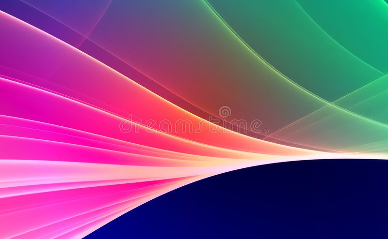 Colorful Abstract background stock illustration
