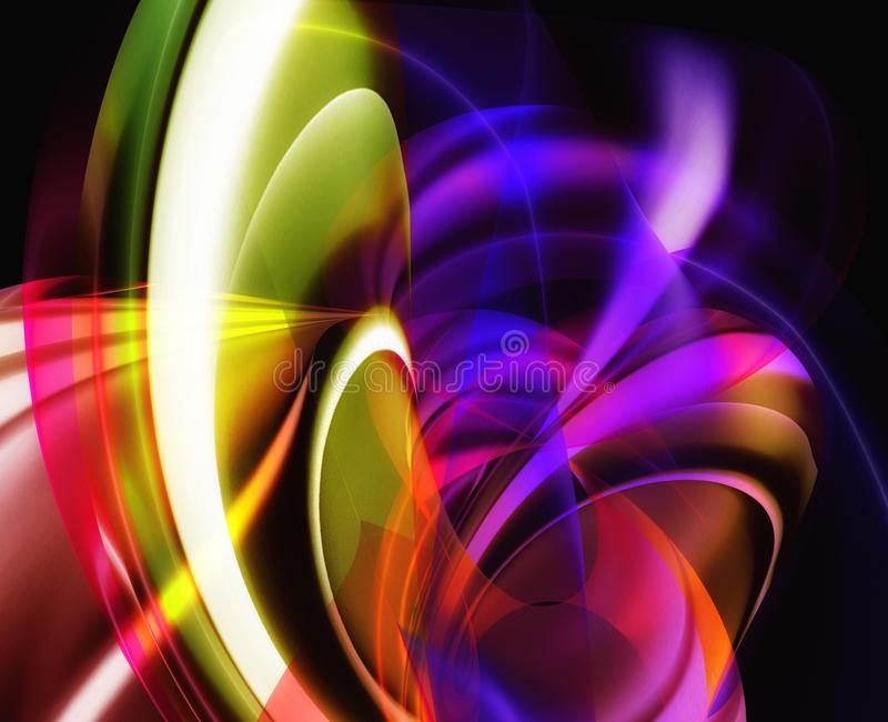 Colorful abstract background royalty free illustration