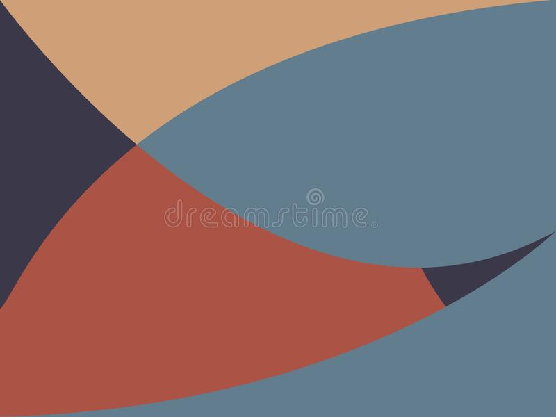 Colorful abstract background with angled blocks, squares, diamonds, rectangle and triangle shapes layered in abstract modern art s vector illustration