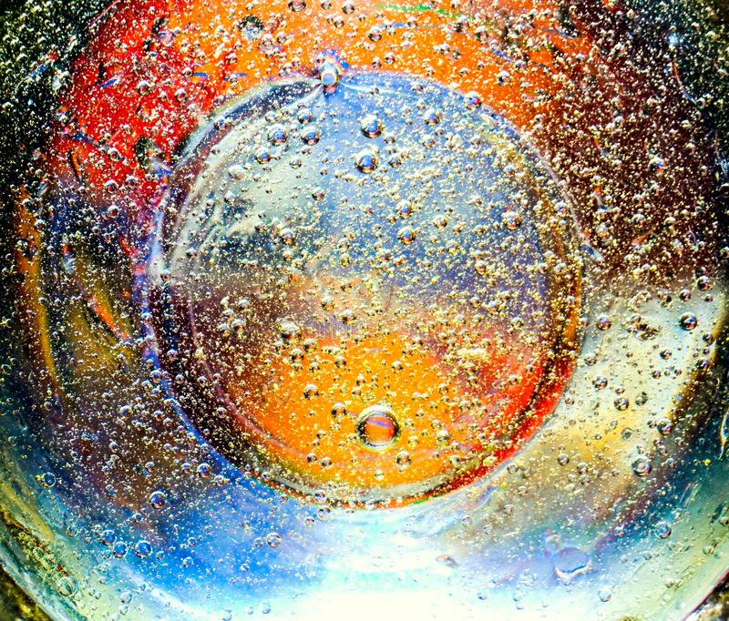 Beautiful colorful abstract background from bubbles royalty free stock images