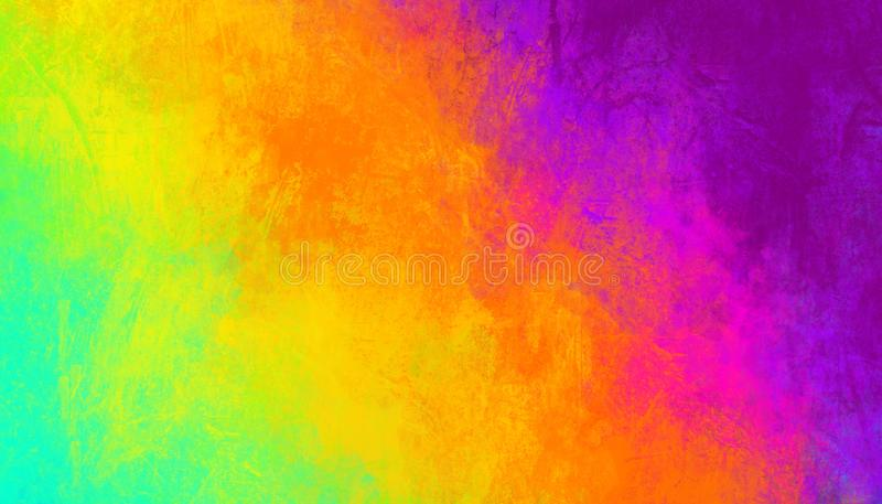 Colorful abstract background. Smears of multi-colored paints. Colorful abstract background. Smears of multi-colored paints- Illustration royalty free stock photos