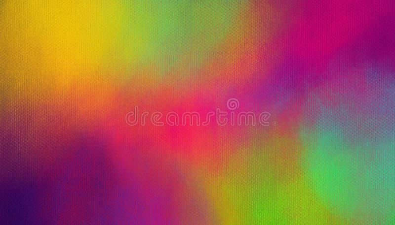 Colorful abstract background. Smears of multi-colored paints. Colorful abstract background. Smears of multi-colored paints- Illustration royalty free stock photo