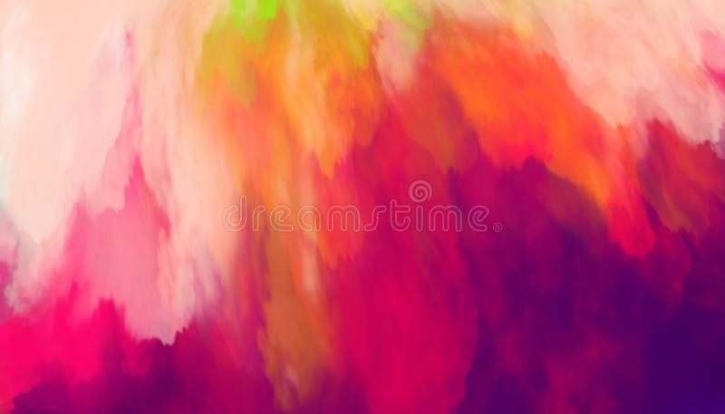 Colorful abstract background. Smears of multi-colored paints. vector illustration