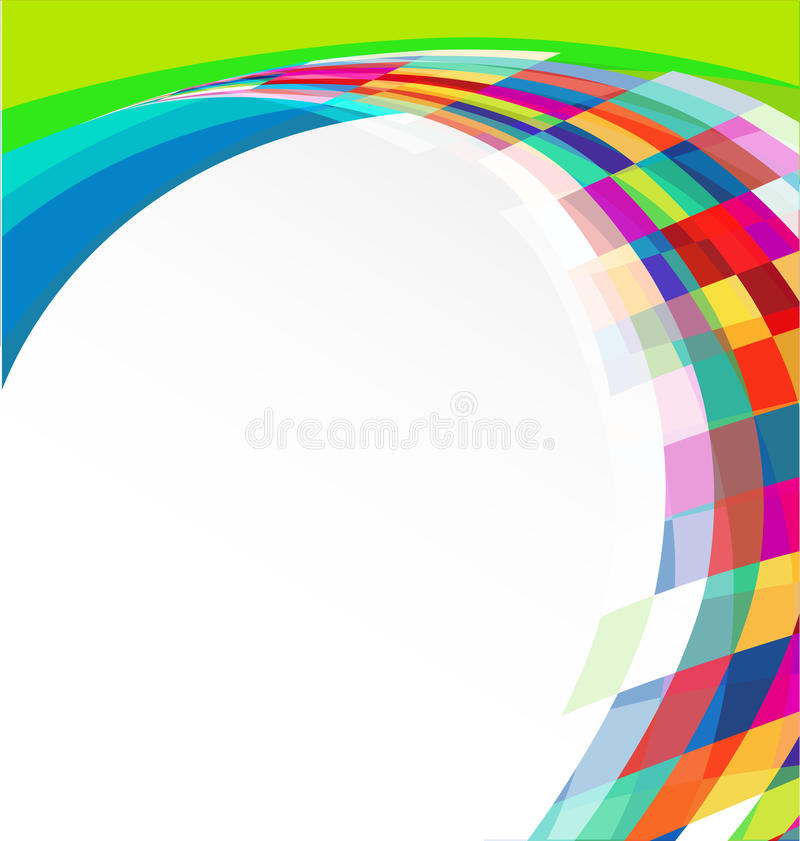 Colorful Abstract Banner Stock Photography